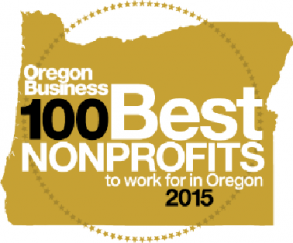 Oregon Business 100 Best Nonprofits logo